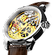 L&amp;F Skelett-Uhr PURIST 3